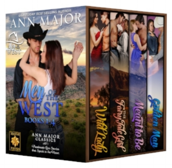 Cover of the Men of West Box Set Bks 1 - 4