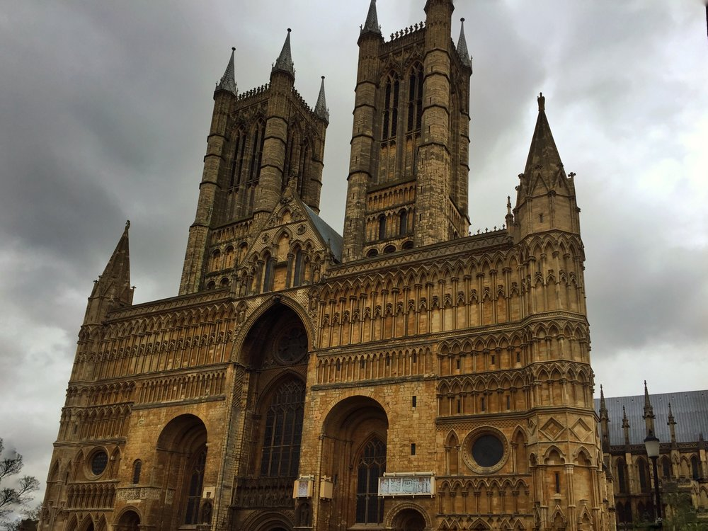Big ole Lincoln Cathedral, imposing and majestic