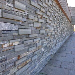 Memorial wall at Culloden Battlefield