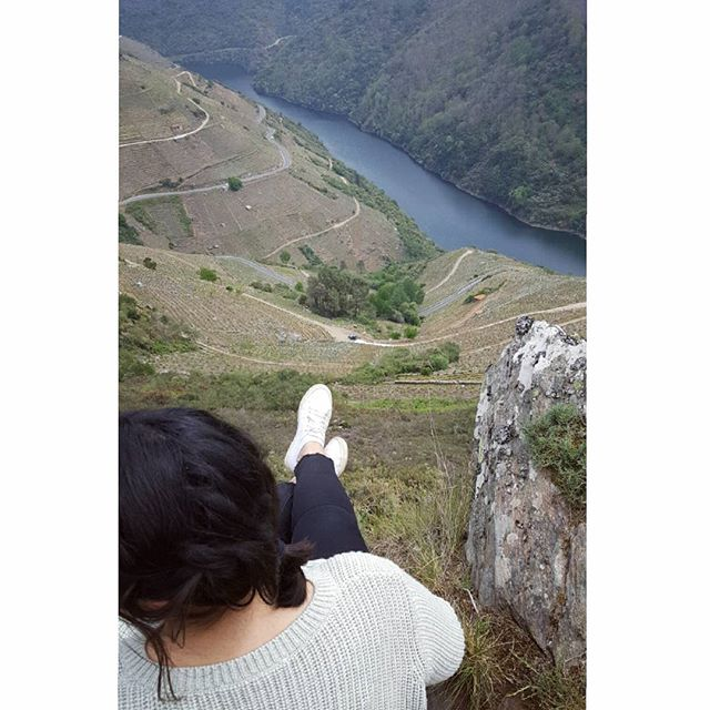 Sitting above the vineyards #RibeiraSacra #Galicia #Guímaro