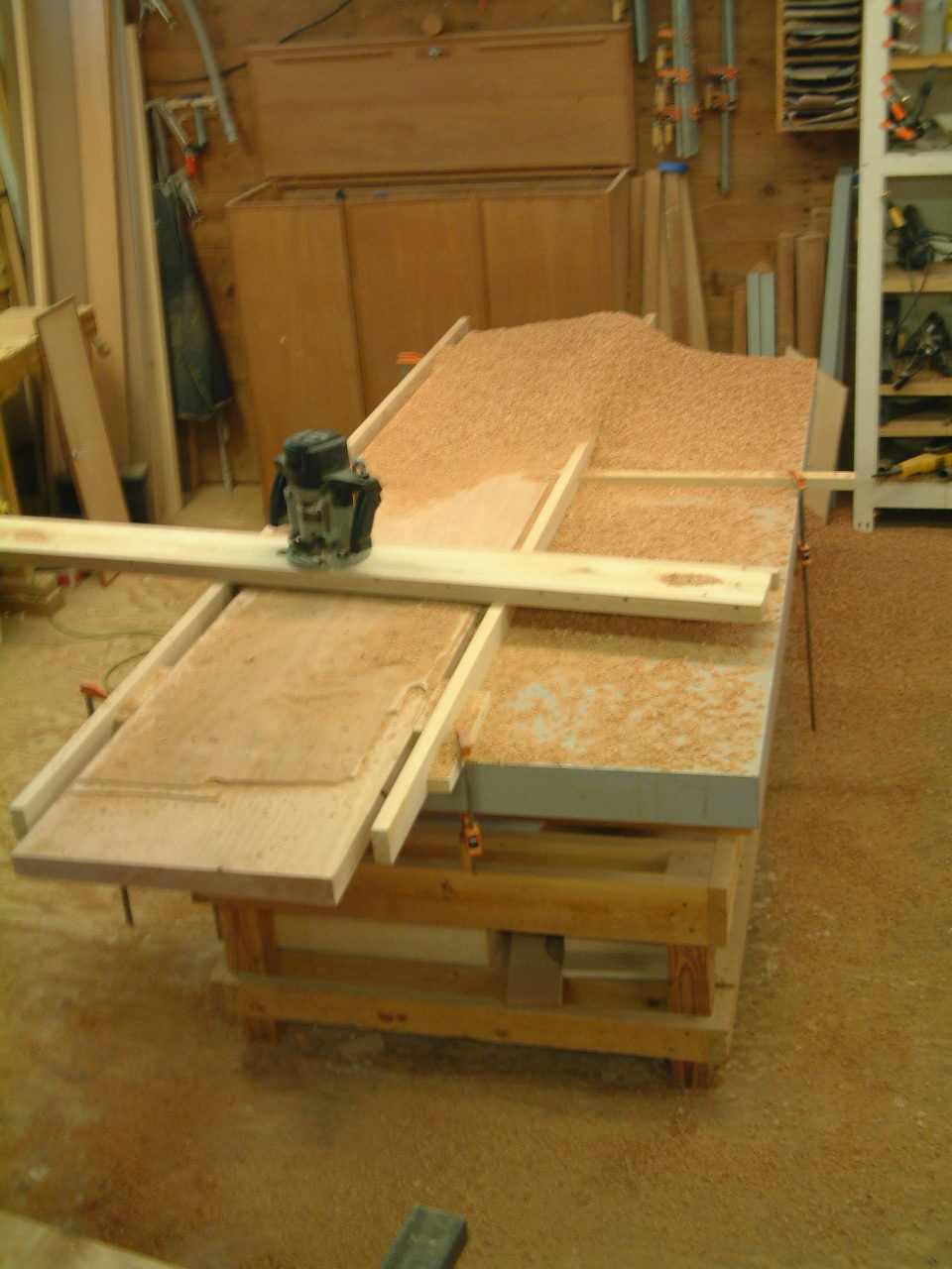Flattening the planks