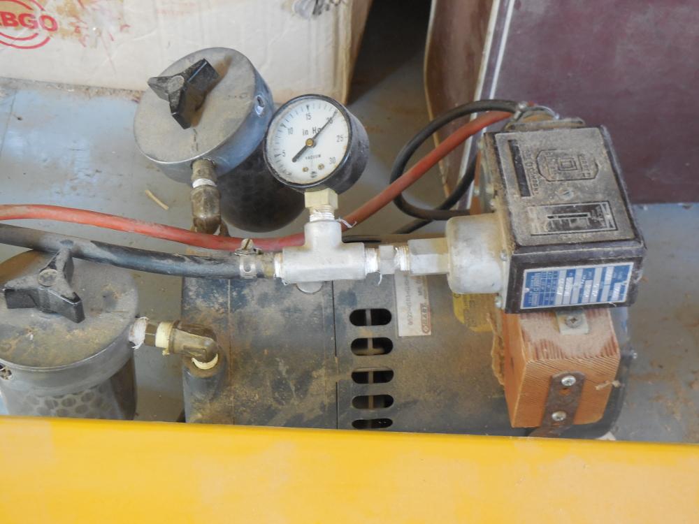 1/4 hp rotary vane vacuum pump