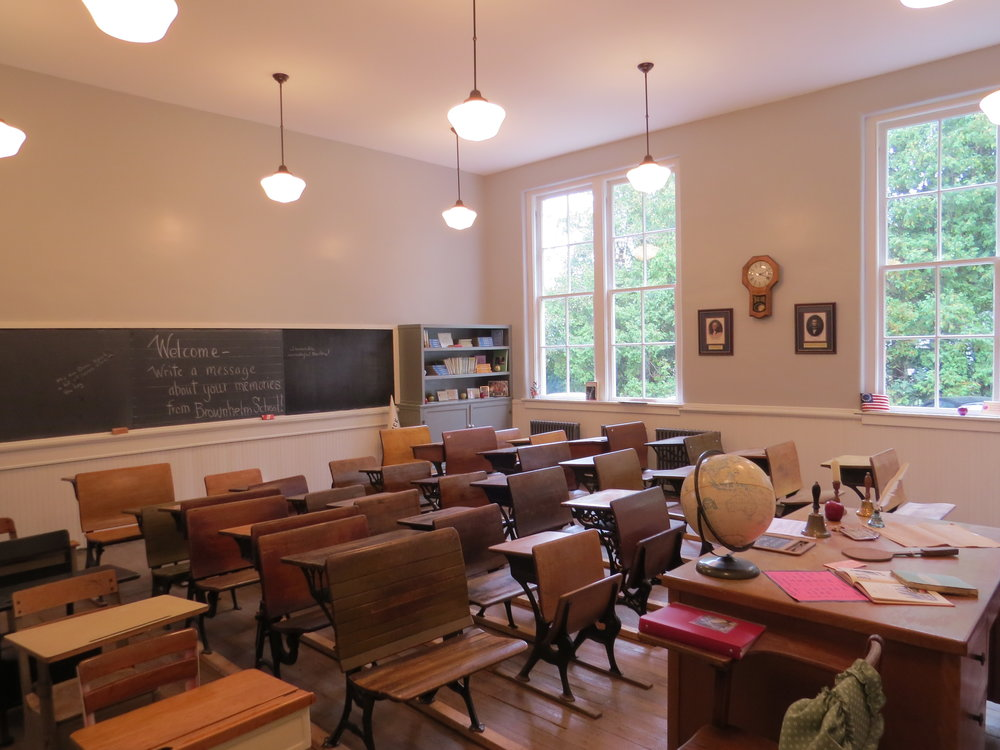 The finished East Classroom