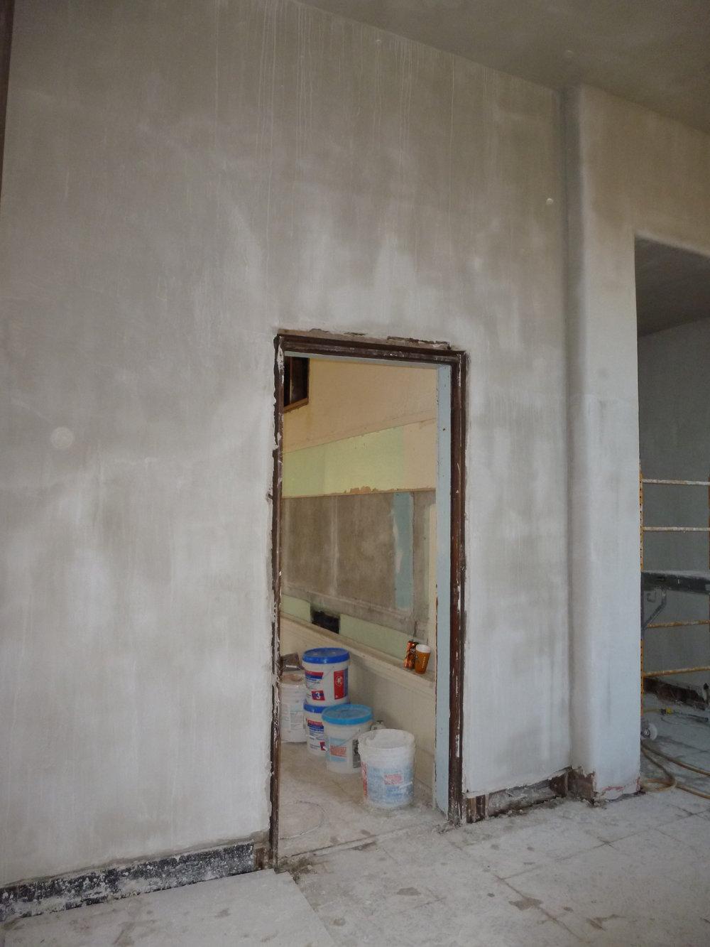 Drywall began