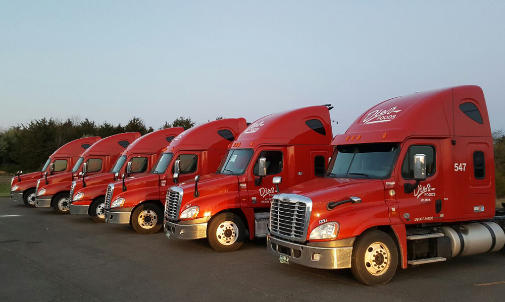 Our Truck Fleet in Virginia