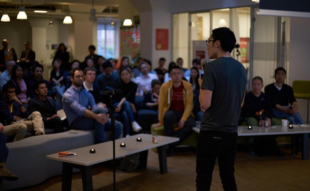 Tom Xiong på Chinapreneurs