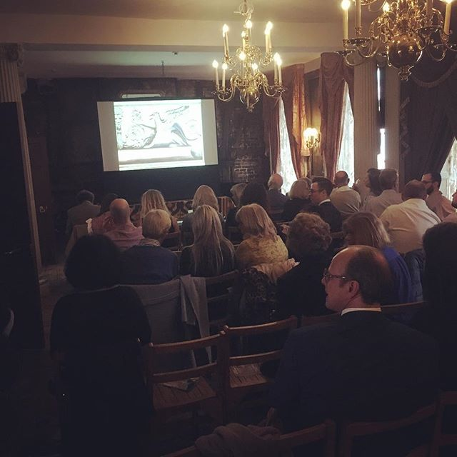 All set for @francis_terry_architect to speak at our 4th #salonwednesday lecture. #historicdecoration #francisterry #lasscobrunswickhouse #historichouses #historicinteriors #interiordecoration #pastiche #classicalarchitecture