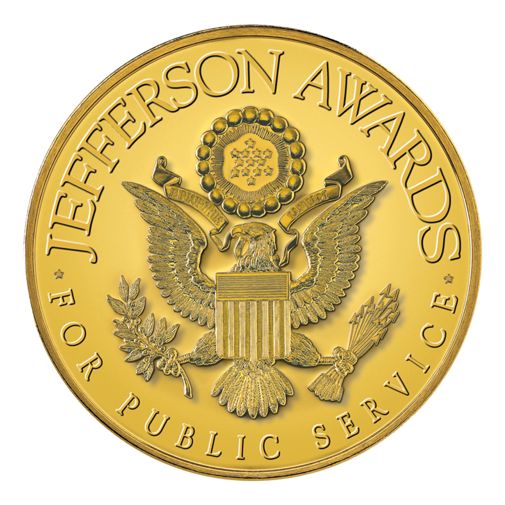 Jefferson Award    Click   for Story >>