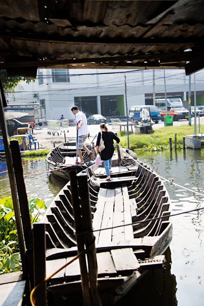 Bang Phli Old Riverside Market in Bangkok Thailand