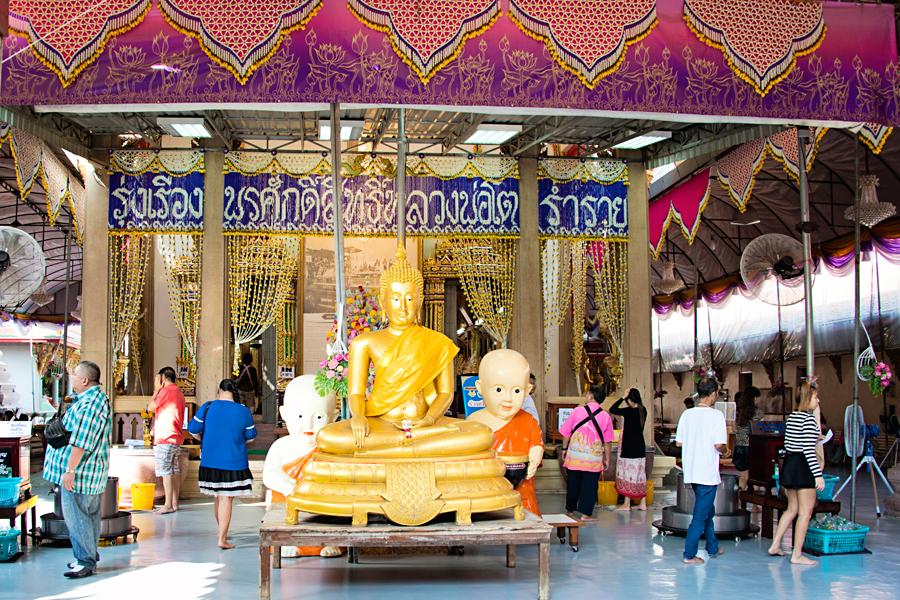 Wat Bang Phli Yai Nai in Bangkok Thailand