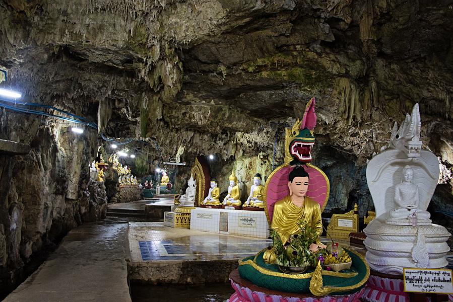 Peik Chin Myaung Cave near Pyin Oo Lwin