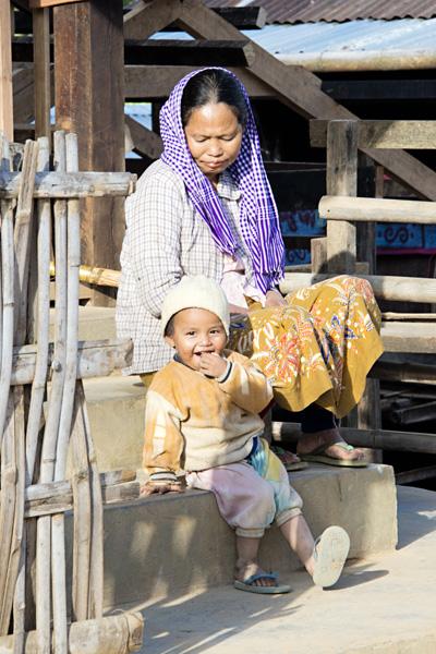 Burmese Countryside & People near Hsipaw, Myanmar