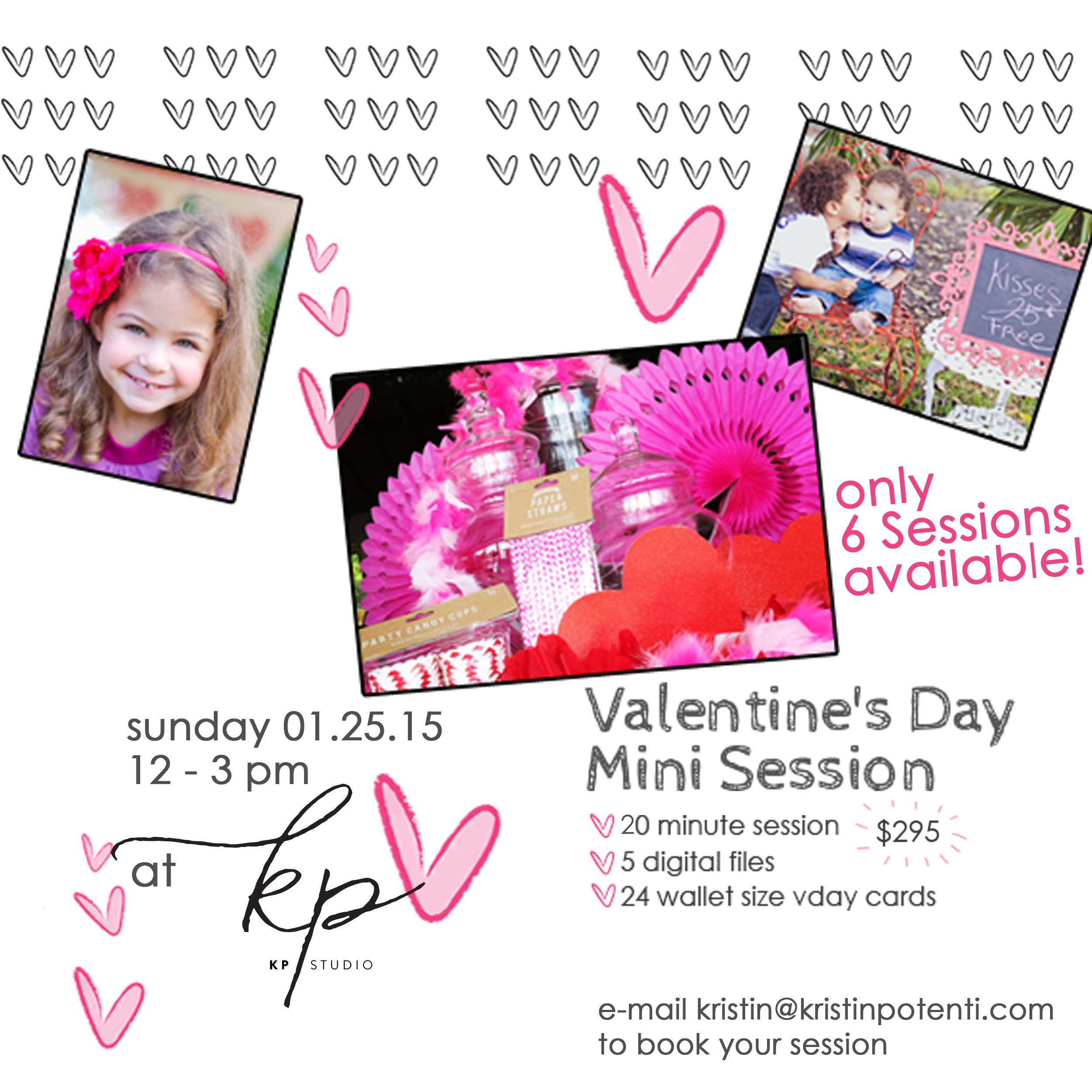 Valentine's Day Mini Sessions