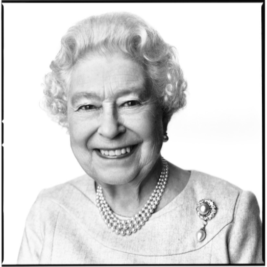 Portrait of Queen Elizabeth by David Bailey