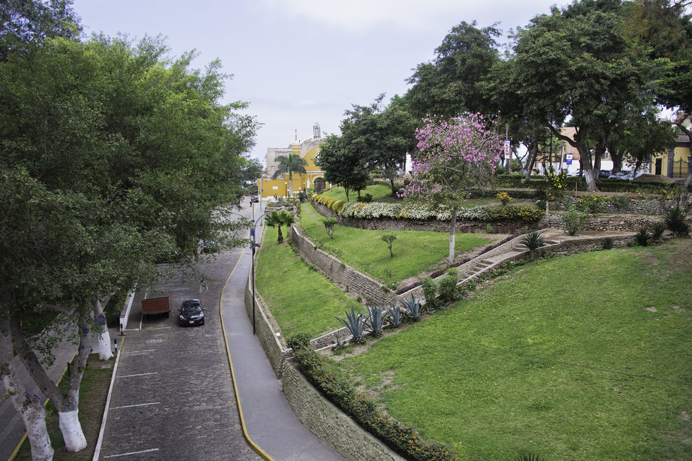 Park in Barranco Lima
