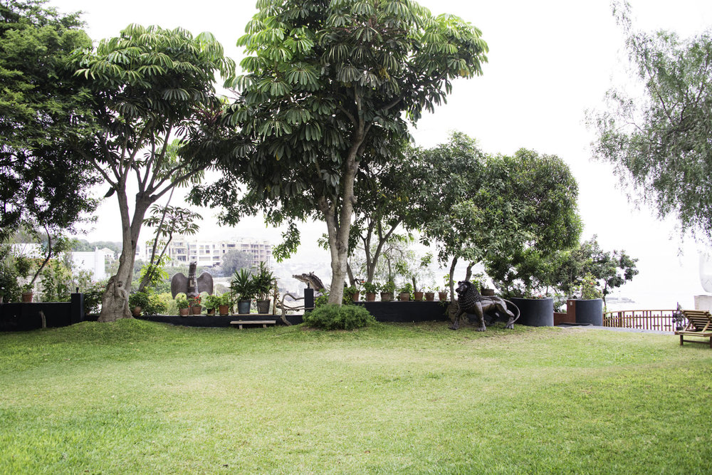 Back Lawn of Second Home Peru in Lima