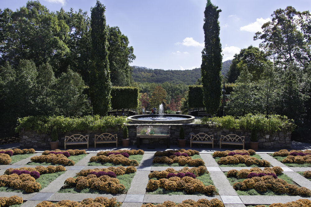 Formal Garden at the North Carolina Arboretum
