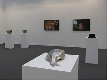 Photograph from Matthew Marks booth, FIAC 2011, Grand Palais, Paris, 2011