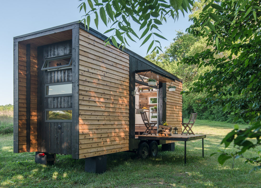 The Alpha Tiny House Was Featured On HGTVs Tiny House Big Living