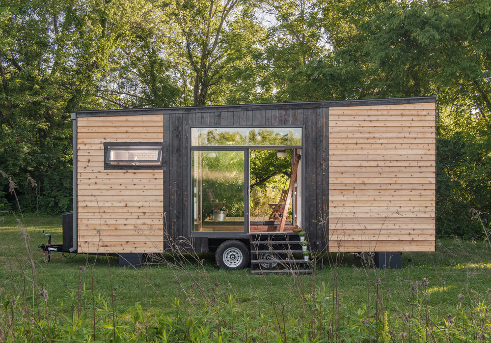 weve pulled out all the stops on this luxury tiny house it is on wheels and ready for delivery if you find the right available home for you