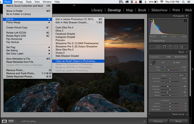 Open your RAW file into Photoshop as a smart object.