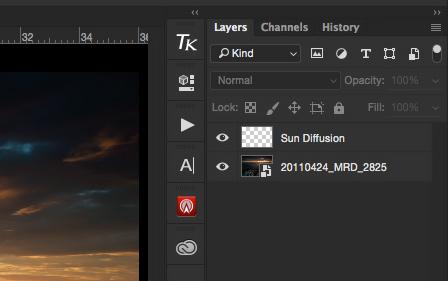 Sun Diffusion Layer.