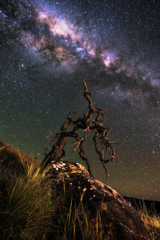Burning Milky Way