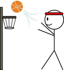 stick figure basketball