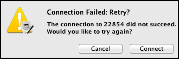 connection-failed