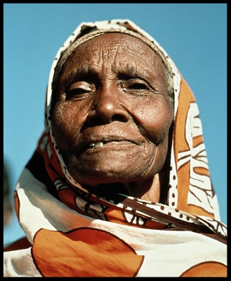 Kenyan woman