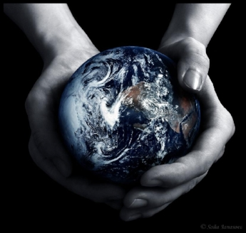 whole world in his hands
