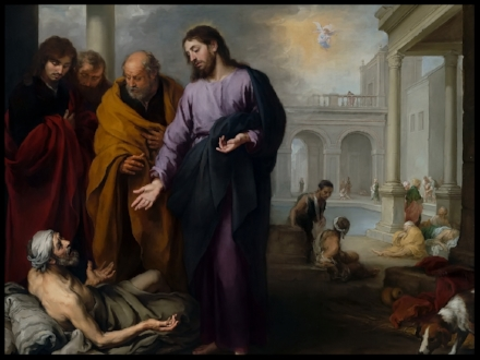 Healing the Paralytic at the Pool of Bethesda