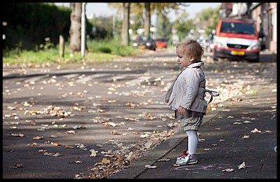 kid in street