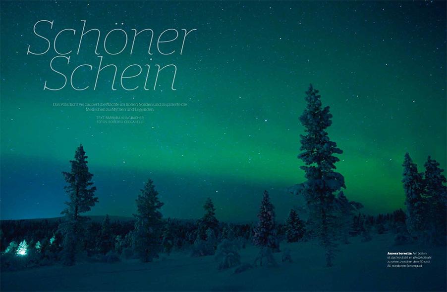 Lappland Nordlicht