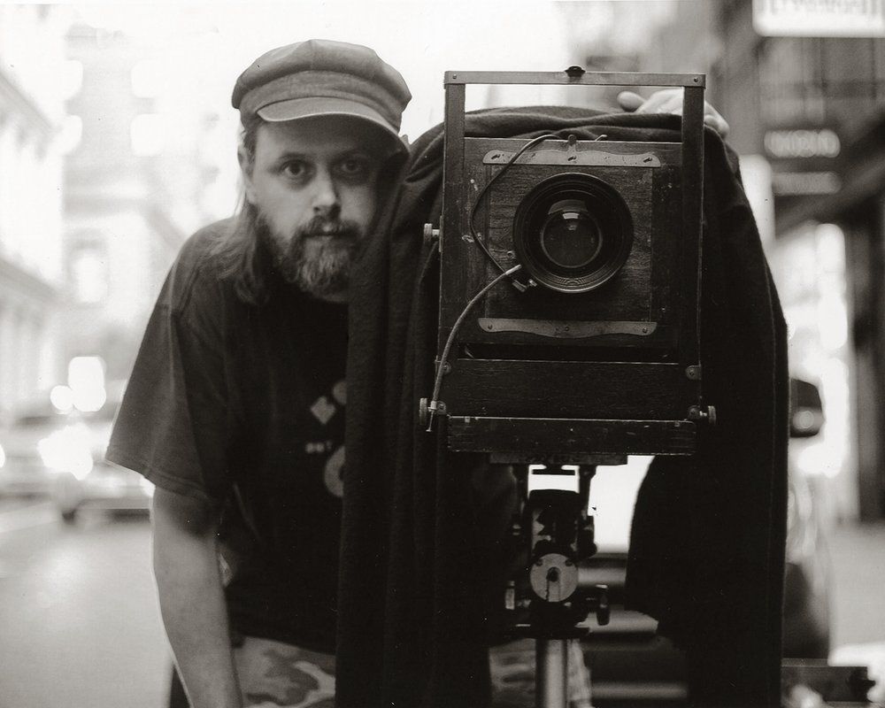 With my large format Eastman 2D Photo John Palisay