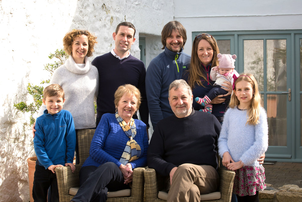 Family portraits Isles Of Scilly