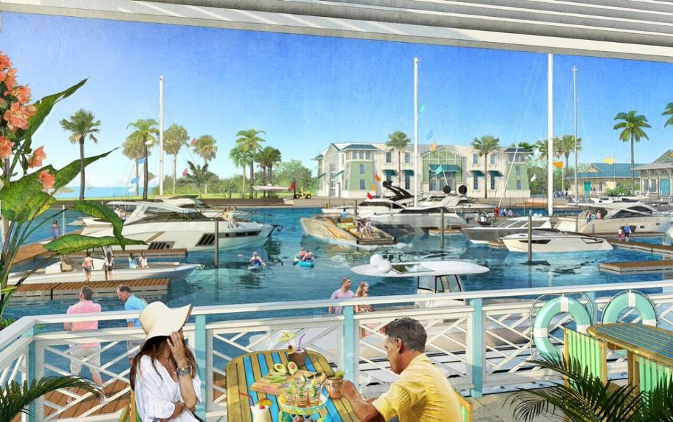 Rendering by The McBride Company.One Particular Harbour in Bradenton, FL.