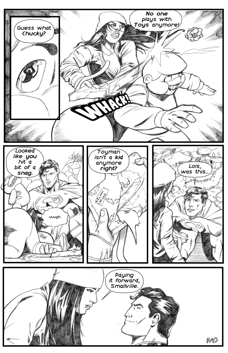 Superman Christmas pg 5