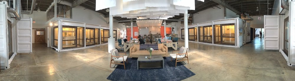 WELD Nashville, a creative co-working space where the idea for Little Voices Are Loud came to fruition.