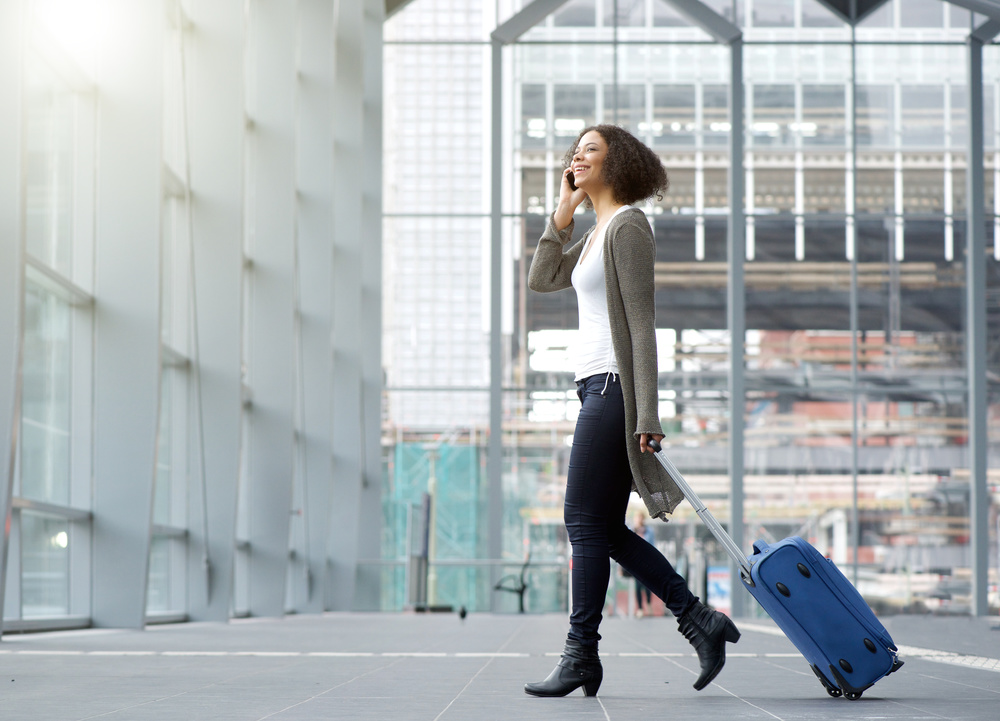 womanairport
