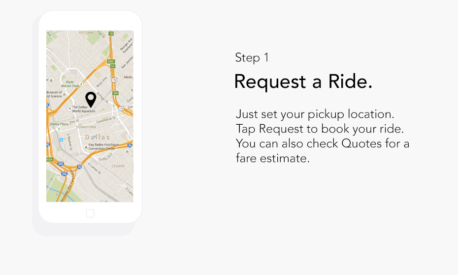 Step 1: Request Your Ride