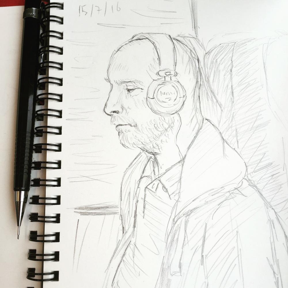 train-sketch