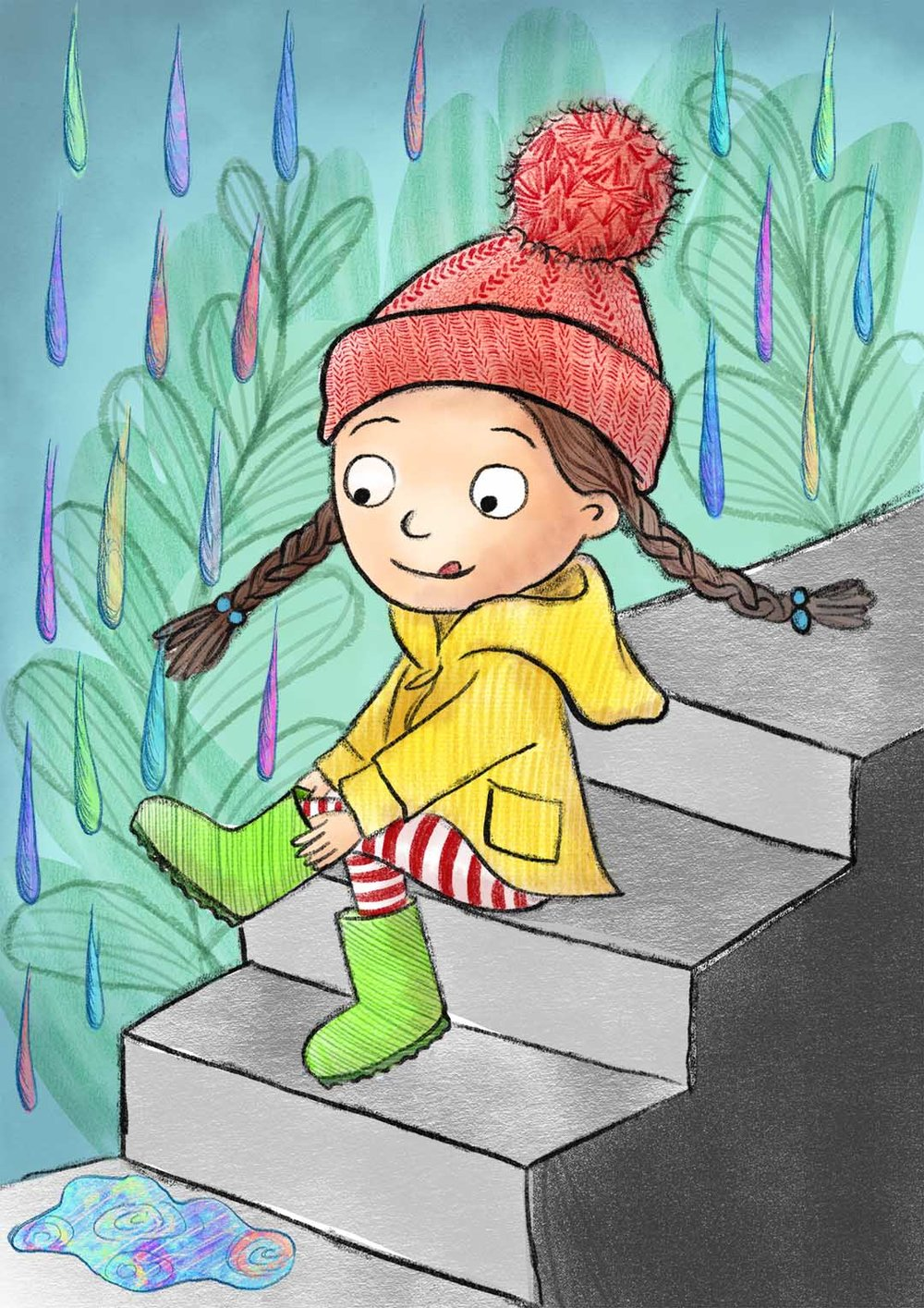 Welly Weather - Get your boots on and go splash in the puddles!