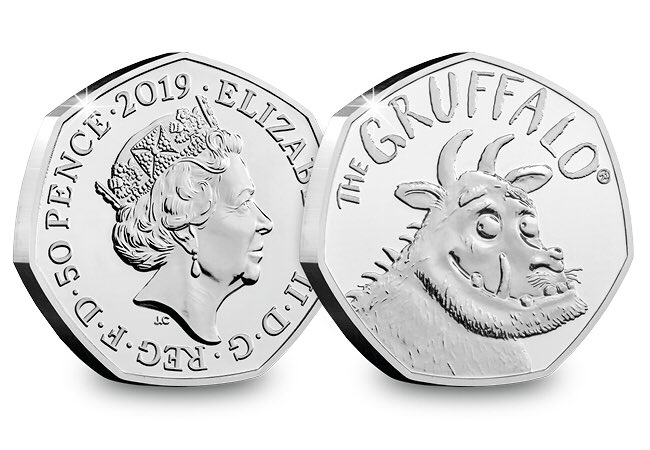The Gruffalo 50p coin - The Royal Mint