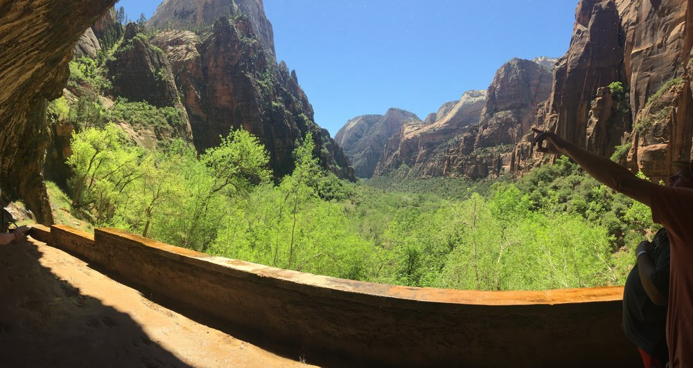 Weeping Rock, Zion National Park.