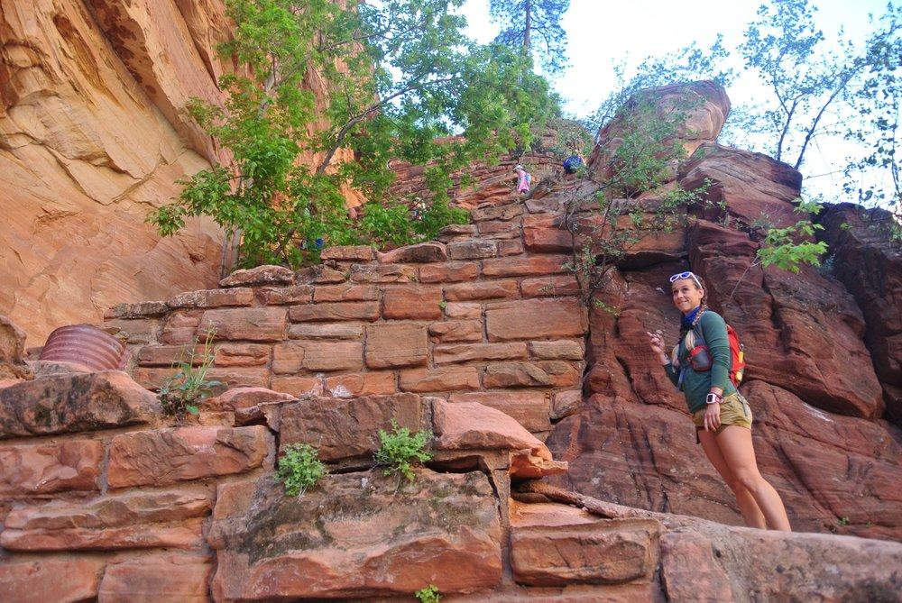 Noooopppeee. Switchbacks, Angel's Landing, Zion National Park.