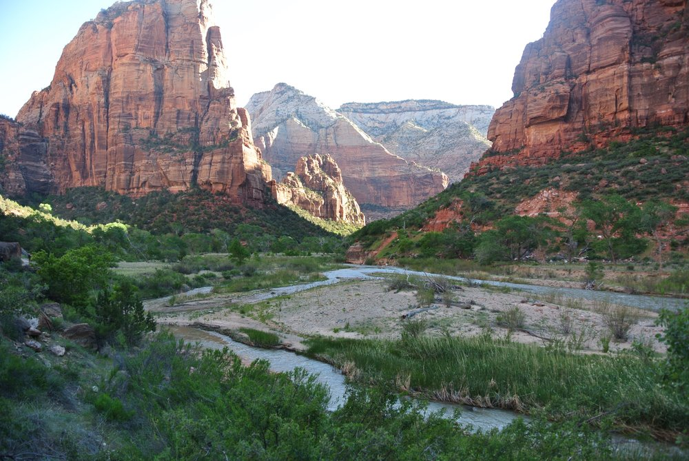Oh hai, river valley. Angel's Landing, Zion National Park.