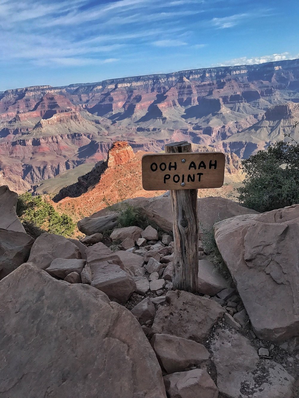 Ooh Aah Point, South Kaibab Trail, South Rim, Grand Canyon
