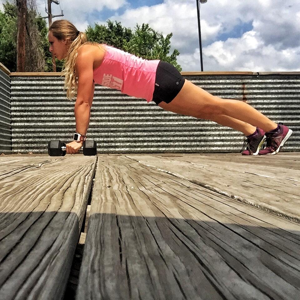 Starting Plank Position -