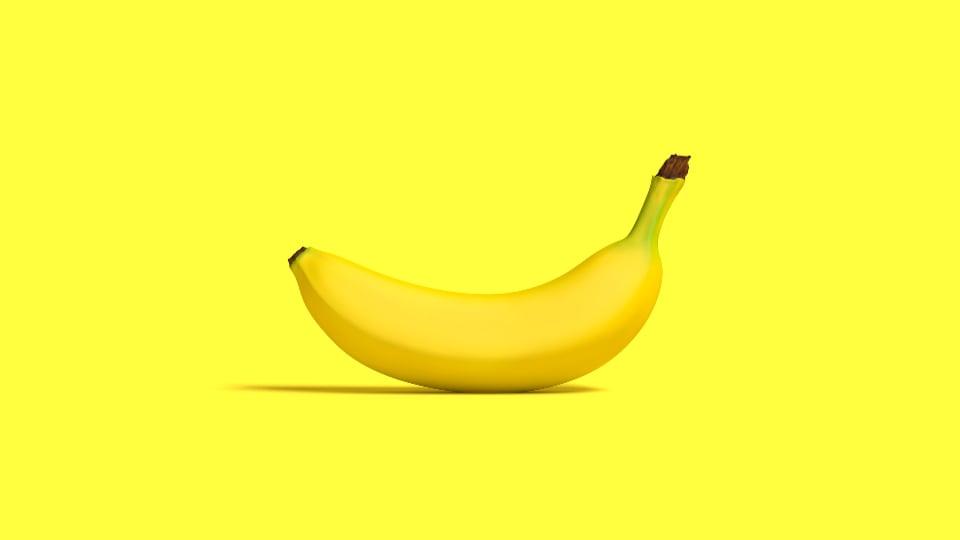 Be the banana.